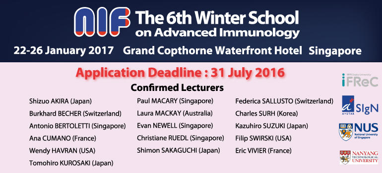 The 6th NIF Winter School on Advanced Immunology