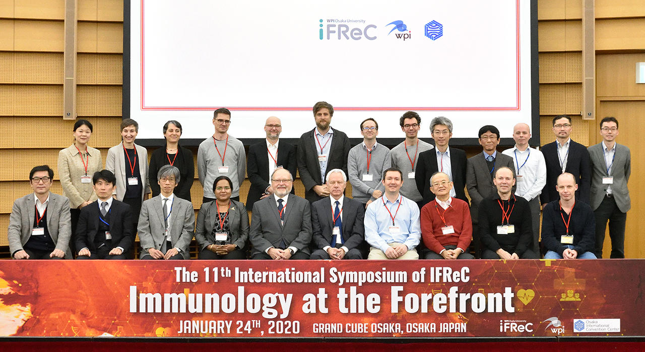 The 11th International Symposium of IFReC Immunology at the Forefront
