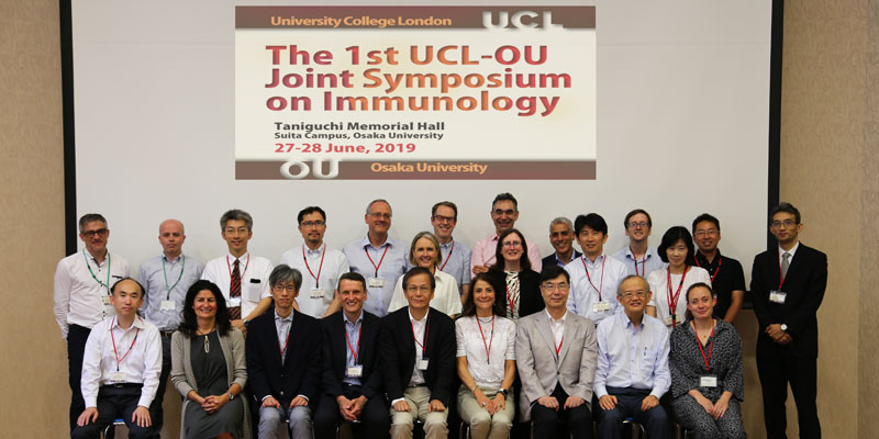The 1st UCL-OU Joint Symposium on Immunology