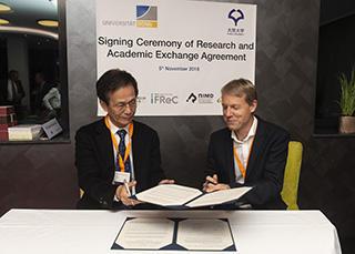 Academic exchange agreement with the University of Bonn
